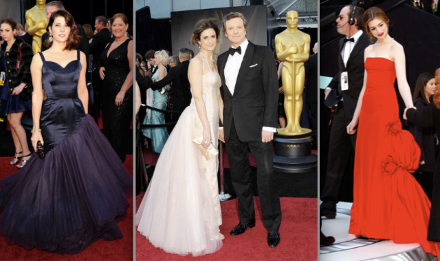 Vintage &amp- Upcycled Gowns at the 83rd Academy Awards: Cause or ...