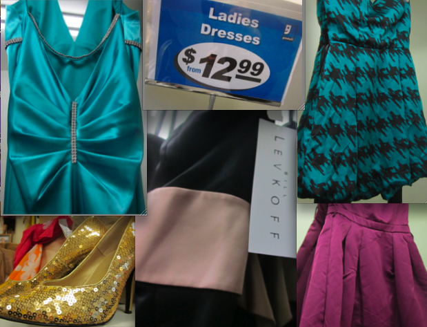 Thrift Stores: A Prom Dress Haven  Thrifty Vintage Chic