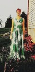 Me in my $10 senior homecoming dress, Fall 1997.
