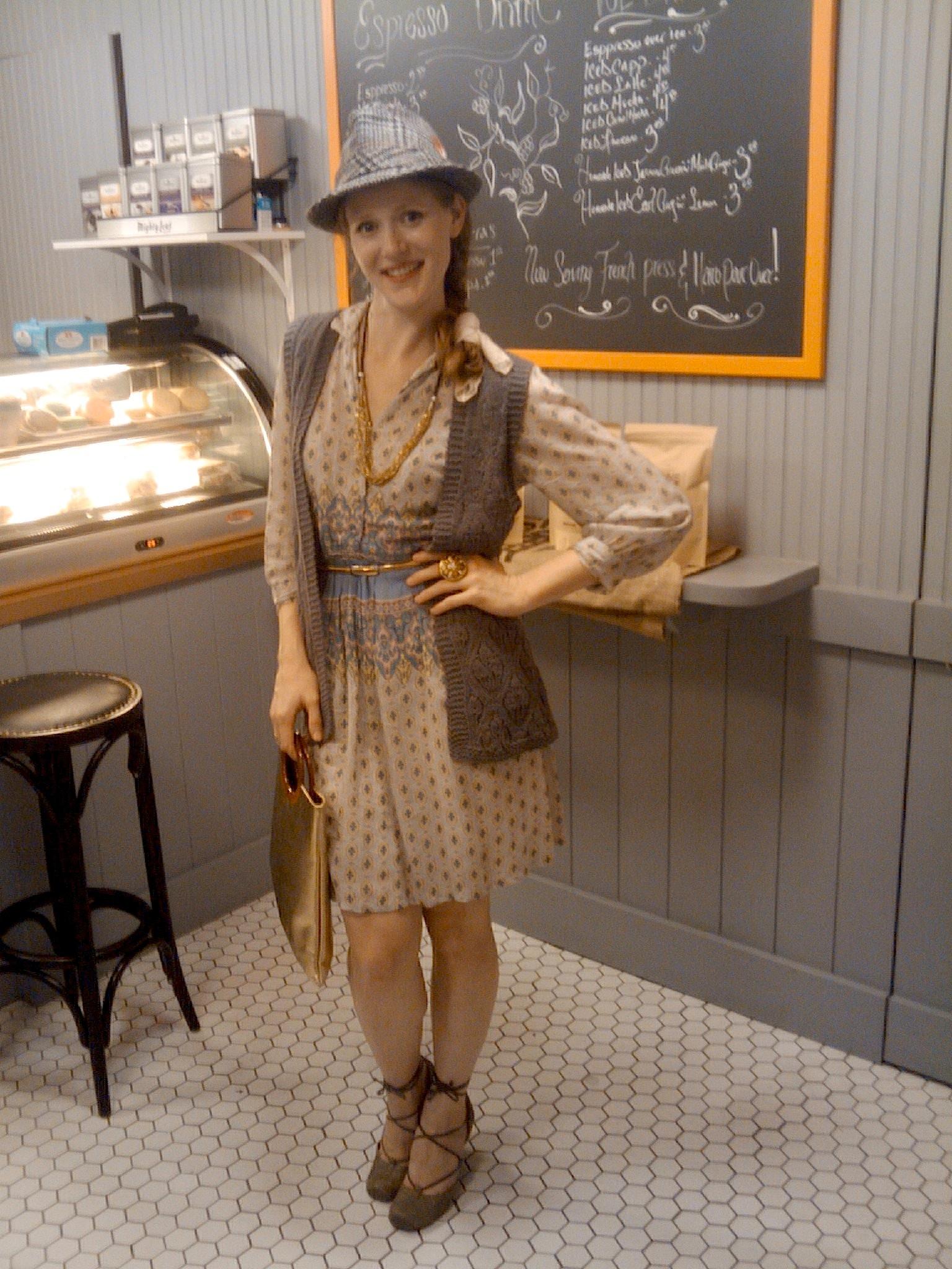 how to make a vintage dress modern hip thrifty vintage