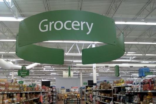 Walmart Grocery Aisle