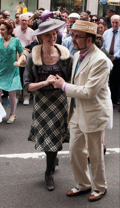 NYC Easter Bonnet Parade - Vintage Dancers