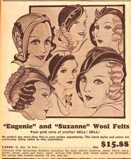 1931 Nov womens hats