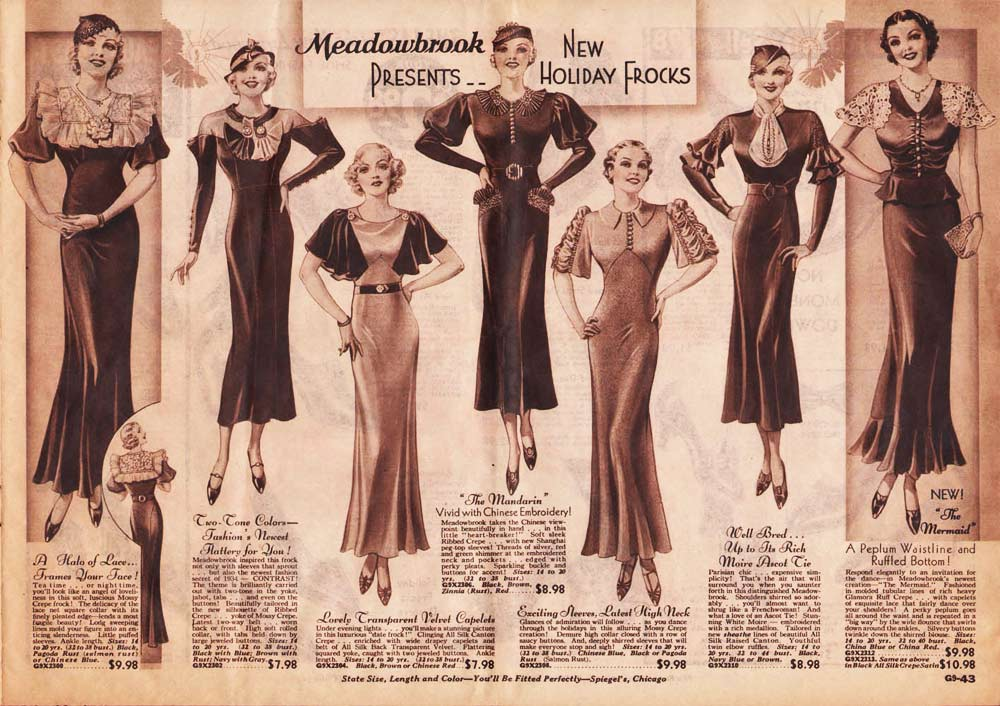 Fashion S Swinging 1930