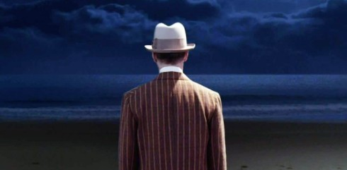Nucky Thompson on the sandy shores of Atlantic City in 1931 during the Final Season of Boardwalk Empire.